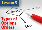 Types of Options orders and how to get the best price.